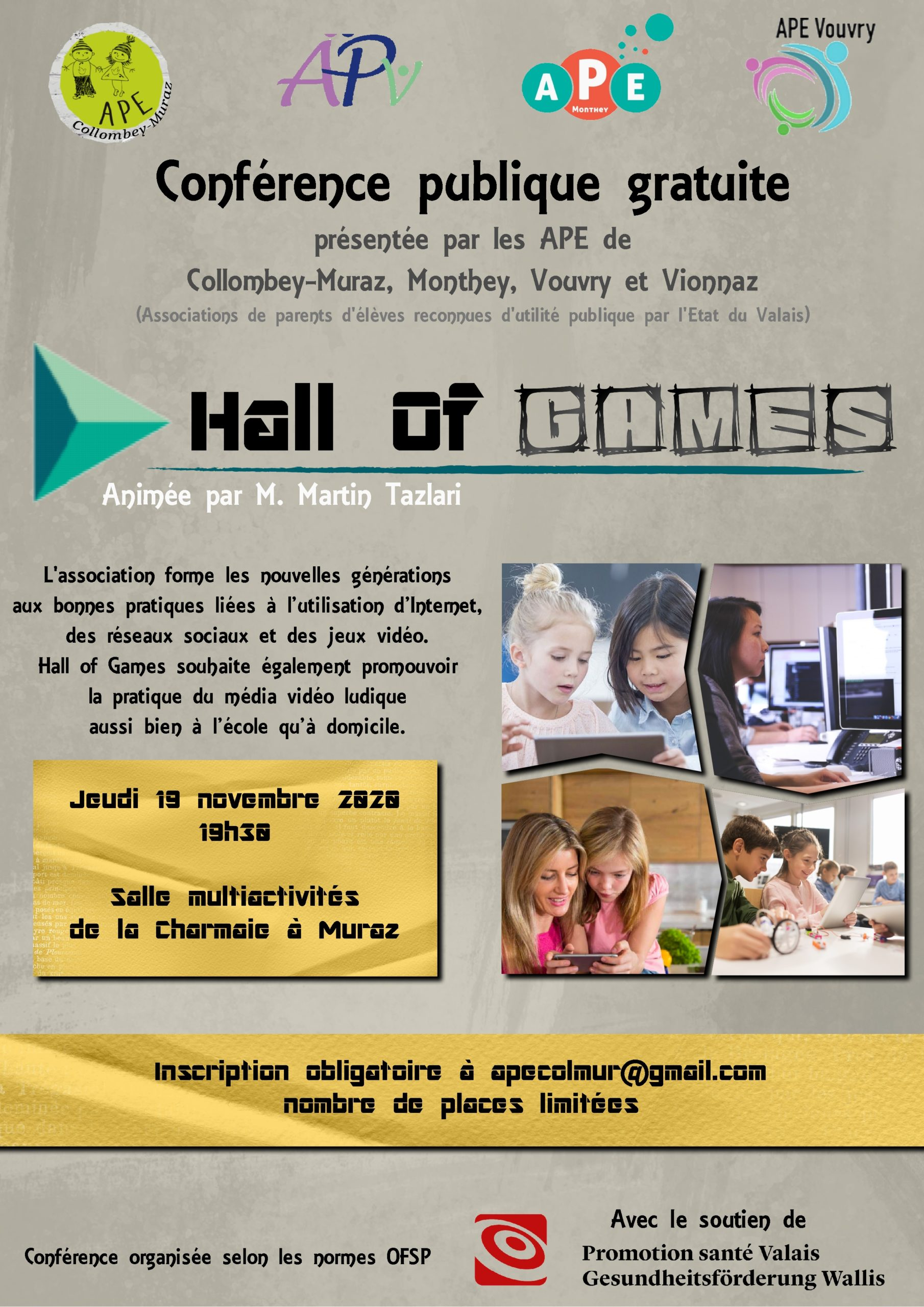 Affiche Hall of Games